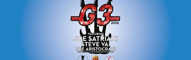 G3: Satriani, Vai & Govan – Live @Ascoli Piceno